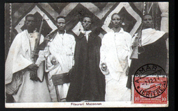 Erythree, Fitaurari Maconnen, Affranchissement Avec 1x Y&T N°38, Marque Postale Au Verso - Erythrée