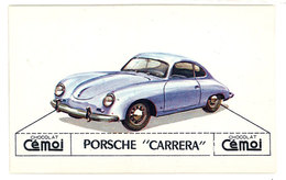 Chromo Chocolat Cemoi ( Automobile ):  Porsche Carrera - Chocolat