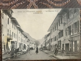 LA CHAMBRE SAINT AVRE ETIENNE DE CUINES 73 - Rare Cpa HOTEL JAY Grande Rue - France