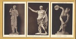 3 C.P.A. Sculptures Romaines - Historia