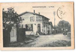 CPA 78 Porchefontaine La Poste - France