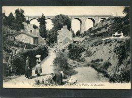CPA - SAINT BRIEUC - Viaduc Du Chemin De Fer De L'Etat Et La Vallée Du Gouëdic, Animé - Saint-Brieuc