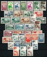 Marruecos (Francés) Nº 163/99 Nuevo* - Unused Stamps