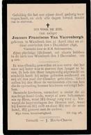 Wambeek, 1898, Joannes Van Vaerenbergh - Devotion Images