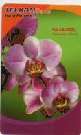 INDONESIA - TELKOMSAVE - THEMATIC FLOWERS - ORCHIDS - Indonésie