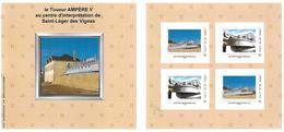 FRANCE CARNET COLLECTOR AMPERE V ST LEGER DES VIGNES NON PLIE TB VOIR SCANS - Collectors