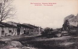 BLEMEREY , En Loarraine Guerre 1914-1918, Vue D'ensemble - Autres Communes