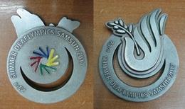 AC - 23rd SUMMER DEAFLYMPICS OLYMPICS GAMES FOR THE DEAF SAMSUN 2017 TURKEY MEDAL - MEDALLION - Olympische Spelen
