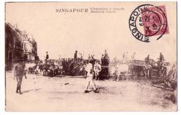6533 - Singapour - Charettes à Boeufs - - Singapore