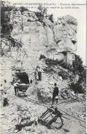 GEVREY CHAMBERTIN Tramway Départemental.Construction Du Tunnel De La Combe Grisat - Gevrey Chambertin