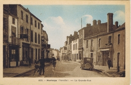 85 - Montaigu (Vendée) -  La Grande Rue - Montaigu
