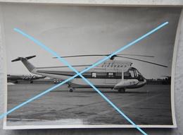 Photo Hélicoptère SIKORSKI S 62 Belgium Expo 58 ? Helicopter Melsbroeck ? Zaventem ? Aviation - Luftfahrt