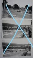 Photox3 FRANCORCHAMPS Curse Grand Prix Moto Side Car 1950 - Automobiles
