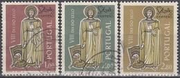 PORTUGAL 1962 Nº 911/13 USADO - Used Stamps