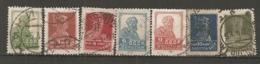RUSSIE - Yv N° 247 à 249,251,254,255,258  T Dent 14  (o)  2,3,4,6,9,10,20k   Cote  2 Euro BE - 1923-1991 URSS