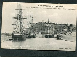 CPA - SAINT BRIEUC - Ecluses Du Bassin à Flot Du Légué - Bateaux De Pêche - Saint-Brieuc