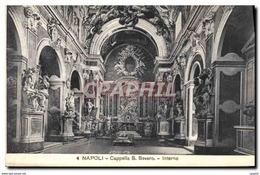 CPA Napoli Cappella S Severo Interno - Napoli