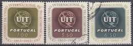 PORTUGAL 1965 Nº 963/65 USADO - Used Stamps