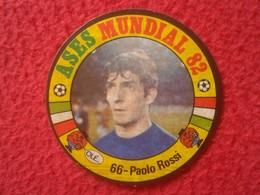 CROMO OLD COLLECTIBLE CARD ESPAÑA 82 ASES DEL MUNDIAL 1982 FOOTBALL CALCIO PAOLO ROSSI ITALIA WORLD CUP TOP SCORER VER - Cromos