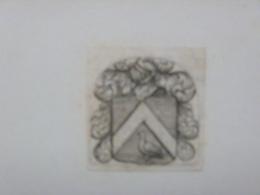 Petit Ex-libris Ou Illustration Héraldique XVIIIème - Ex-libris