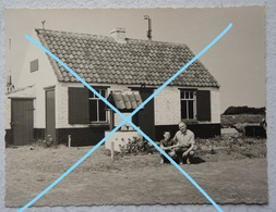 Photo NIEUWPOORT 1962 Oude Huis Kust Côte Belgïe - Orte