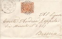 Un Annullo Per Paese Nigoline (Brescia) Numerale A Sbarre - 1878-00 Umberto I