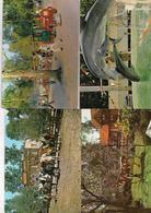 4 Cartes Centre Attractif Jean Richard - Ermenonville