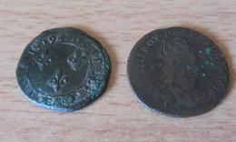 Achat Immédiat - 26 Monnaies Dont Liard, Révolution Dupré, Napoléon, Cérès + Qqles étrangères Dont Argent - Voir Détails - France