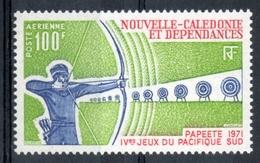 Nuova Caledonia New Caledonia 1971 - Tiro Con L'arco Archery MNH ** - Tiro Con L'Arco