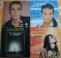 FRANCIS LALANNE - Quatre 45 Tours - Vinyles