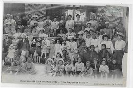 """17  CPA  SOUVENIR  De  CHATELAILLON  -  """"  Le  Rayon  De  Soleil  """"  En  1906   (  Très  Très  Animée  ) - Châtelaillon-Plage"""