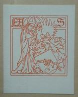 Ex-libris Illustré XXème - ERNEST STÜCKELBERG - Ex-libris