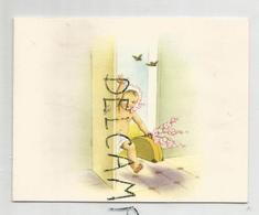 Mignonnette. Petit Enfant Arrive Avec Sa Valise. Anne Tromme Née Le 10 Mars 1960 - Naissance & Baptême