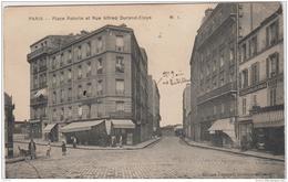 PARIS XIVe PLACE PATURIE ET RUE ALFRED DURAND CLAYE 1918 - District 14