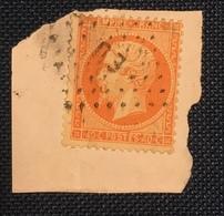 Timbre De France Classique N°23 Obl Exposition-Universelle  TB - 1862 Napoleon III