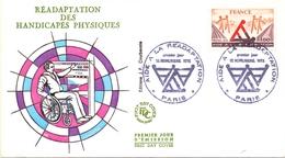 FRANCE  PARIS AIDE  HANDICAPES FDC   (GENN200957) - Handicap