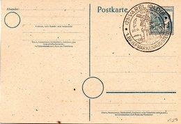 (FC-8) All.Besetzung  Gzs-Postkarte P962, II.Kontrollratsausg.1947 12(Pf)grau,blanko SSt VAREL (OLDB),  20.9.1947 - Gemeinschaftsausgaben