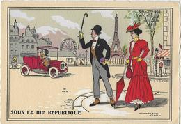 Paris.   -   Chaperon Jean   -   Sous La III Me Republique.   -    La Tour Eiffel.   1904 - Mode