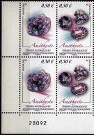 TAAF 2020 Block 4 V MNH Minéral - Améthyste - Minerals