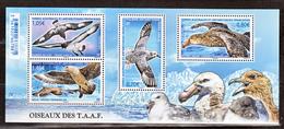 TAAF 770/773  Feuillet Oiseaux Des TAAF 2016 Neuf ** MNH Sin Charmela Faciale 4 - Nuovi