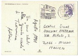 "IB27   Germany 1991 Special Postmark  ""Schwangau"" - Telepherique, Cableway, Seilbahn - Altri (Terra)"