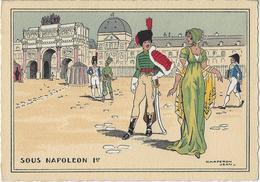 Paris.   -   Chaperon Jean   -   Sous NAPOLEON  I Er.   -    L'Arc De Triomphe Du Carrousel Au XIX E  Siècle (1805) - Mode