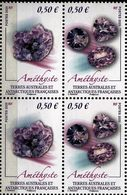 TAAF 2020 Block 4 V MNH Minéral - Améthyste - Minerali