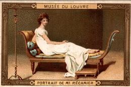 CHICORÉE ARLATTE  MUSÉE DU LOUVRE  Portrait De M E Recamier - Tè & Caffè