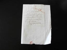 LETTRE DE DOUDEVILLE POUR ROUEN -  1814  - - Poststempel (Briefe)