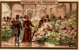 Chromos Réf. C108. Chocolat Du Planteur - Exposition De Fleurs - Cioccolato