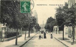 VAL D'OISE  ARGENTEUIL   Avenue De La Gare - Argenteuil