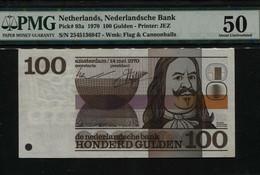 Netherlands 100 Gulden 1970 About UNC PMG 50 - [2] 1815-… : Kingdom Of The Netherlands