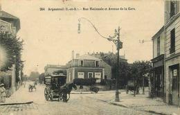 VAL D'OISE  ARGENTEUIL  Rue Nationale Et Avenue De La Gare - Argenteuil