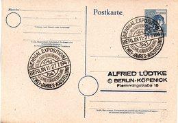 (FC-8) All.Besetzung  Gzs-Postkarte P962, II.Kontrollratsausg.1947 12(Pf)grau,blanko SSt BERLIN,  11.-27..7.1947 - Gemeinschaftsausgaben